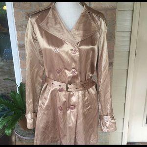 Michael Kors rose gold coat 🧥